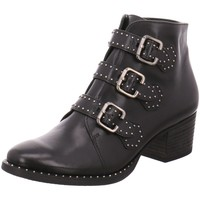 Schuhe Damen Stiefel Paul Green Stiefeletten 9125 9125-013 schwarz