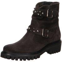 Schuhe Damen Stiefel Paul Green Stiefeletten 9330-013 grau