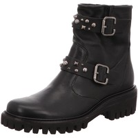 Schuhe Damen Stiefel Paul Green Stiefeletten 9330 schwarz
