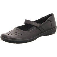 Schuhe Damen Slipper Semler Slipper Flora F5805 012 001 schwarz