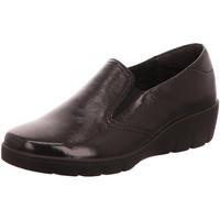 Schuhe Damen Slipper Semler Slipper KNAUTSCH-LACK J7025051/006 schwarz