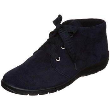 Schuhe Damen Derby-Schuhe & Richelieu Semler Schnuerschuhe SAMT-CHEVRO M80153042/080 blau