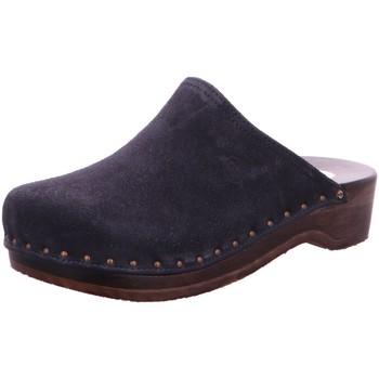Schuhe Herren Pantoletten / Clogs Berkemann Offene 00404-396 blau
