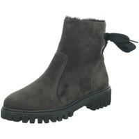 Schuhe Damen Stiefel Paul Green Stiefeletten 9364 grau