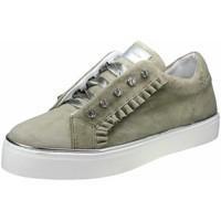 Schuhe Damen Sneaker Low Alpe 4110 1230 4110 1230 oliv