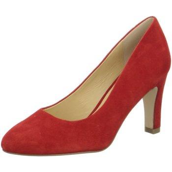 Schuhe Damen Pumps Caprice Woms Court Shoe 9-9-22400-22/524 rot