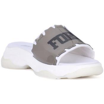 Schuhe Damen Pantoletten Fornarina BLACK SLIPPER Nero