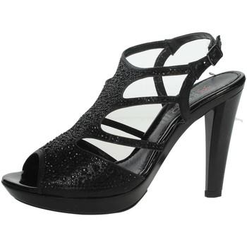 Schuhe Damen Sandalen / Sandaletten Repo 46520-E9 Schwarz