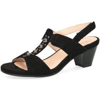 Schuhe Damen Sandalen / Sandaletten Caprice Sandaletten Da.-Sandalette 9-9-28311-22/004 004 schwarz