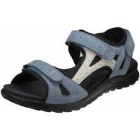 Schuhe Damen Wanderschuhe Legero Sandaletten 6-00732-86 blau