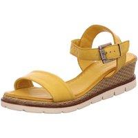Schuhe Damen Sandalen / Sandaletten Macakitzbühel Sandaletten 2445 gelb