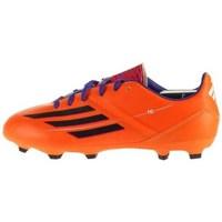 Schuhe Kinder Fußballschuhe adidas Originals F10 Trx FG J Schwarz, Orangefarbig