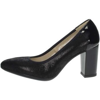 Schuhe Damen Pumps Romagnoli B9E1804 Schwarz