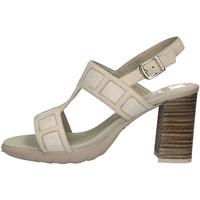 Schuhe Damen Sandalen / Sandaletten CallagHan 21218 ELFENBEIN