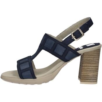 Schuhe Damen Sandalen / Sandaletten CallagHan 21218 Blau