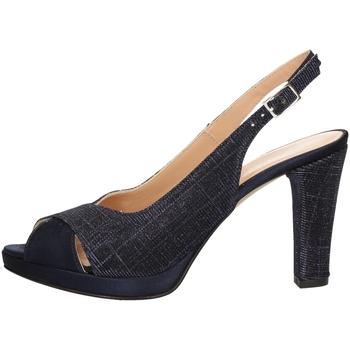 Schuhe Damen Sandalen / Sandaletten Soffice Sogno E9471 BLUE