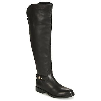 Schuhe Damen Klassische Stiefel Tommy Hilfiger HOLLY 6A Schwarz