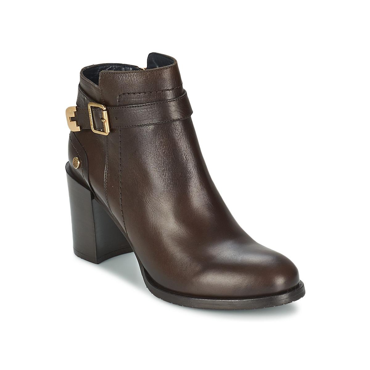 Tommy Hilfiger PENELOPE 3A Braun - Kostenloser Versand bei Spartoode ! - Schuhe Low Boots Damen 140,80 €