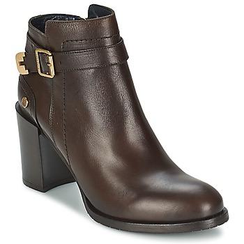Schuhe Damen Low Boots Tommy Hilfiger PENELOPE 3A Braun