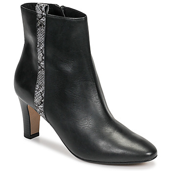 Schuhe Damen Low Boots Tamaris MAFIATA Schwarz / Reptil