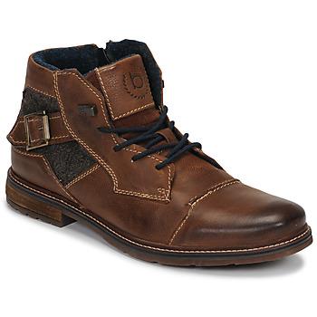 Schuhe Herren Boots Bugatti ROLLAND Braun