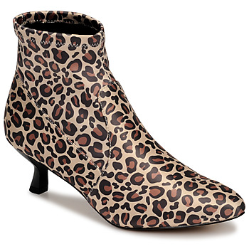 Schuhe Damen Low Boots Katy Perry THE BRIDGETTE Leopard