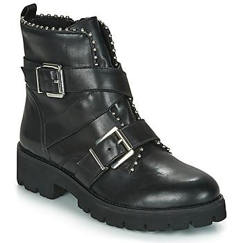 Schuhe Damen Boots Steve Madden HOOFY Schwarz