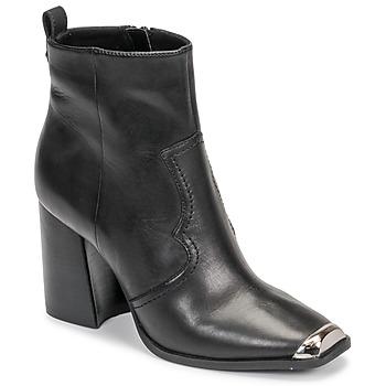 Schuhe Damen Low Boots Steve Madden ENZO Schwarz