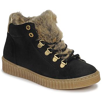 Schuhe Mädchen Sneaker High Bullboxer AIB504E6CA-BLCK Schwarz