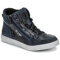 Schuhe Jungen Sneaker High Bullboxer AGM531E6L-NGBLK Marine