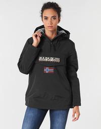 Kleidung Damen Parkas Napapijri RAINFOREST WINTER Schwarz