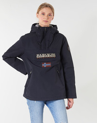 Kleidung Damen Parkas Napapijri RAINFOREST POCKET Marine