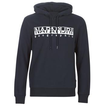 Kleidung Herren Sweatshirts Napapijri BERBER HOODIE Marine
