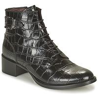 Schuhe Damen Low Boots Muratti ABYGAEL Schwarz