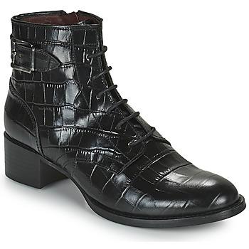 Schuhe Damen Low Boots Muratti RIESEL Schwarz