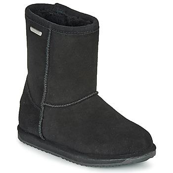 Schuhe Mädchen Boots EMU BRUMBY LO WATERPROOF Schwarz