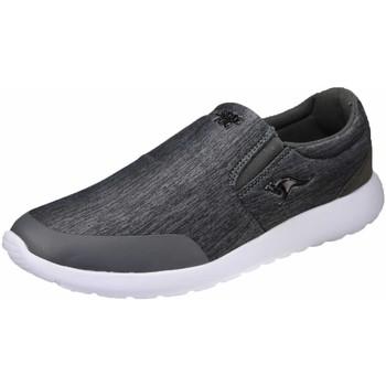 Schuhe Herren Slip on Kangaroos Slipper Coba,steel grey 79064/2005 grau