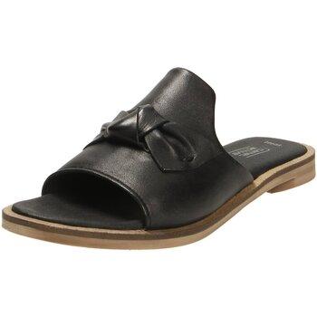 Schuhe Damen Pantoffel Camel Active Pantoletten Heat 70 897.70.01 schwarz