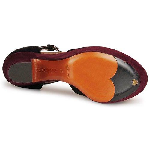 Rochas SUEKID Schwarz / Damen Bordeaux  Schuhe Pumps Damen / 402,50 a5567a
