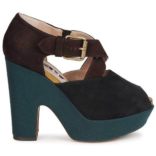 Rochas NINFEA Braun / Blau 472,50  Schuhe Pumps Damen 472,50 Blau 20c5ef