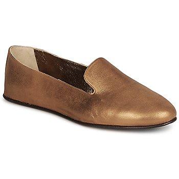 Schuhe Damen Slipper Rochas NITOU Bronze