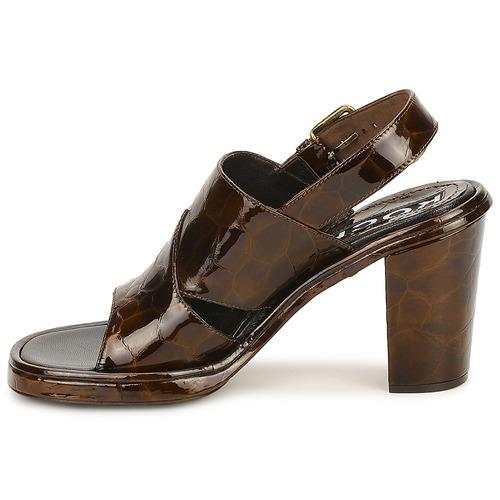 Rochas TARTAF Braun  Damen Schuhe Sandalen / Sandaletten Damen  402,50 c0c607