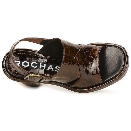 Rochas TARTAF Braun  Schuhe Sandalen / Sandaletten Damen 230