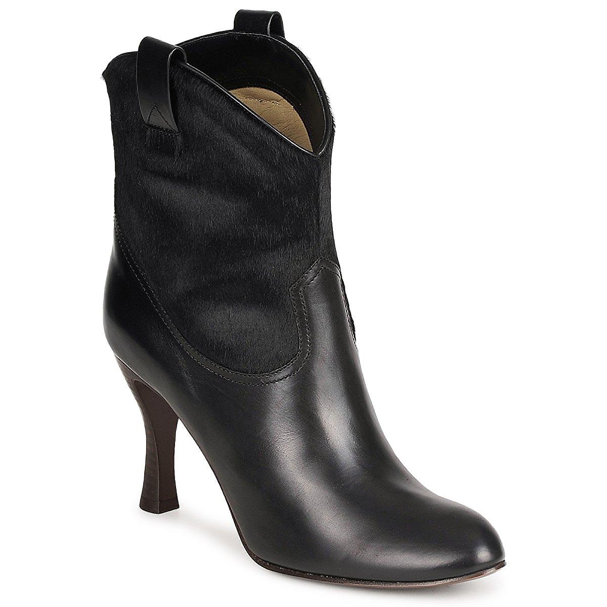 Marc Jacobs MJ19064 Schwarz - Kostenloser Versand bei Spartoode ! - Schuhe Low Boots Damen 344,50 €