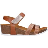 Schuhe Damen Sandalen / Sandaletten Oh My Sandals For Rin OH MY SANDALS 4398 roble Mujer Cuero marron