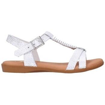 Schuhe Mädchen Sandalen / Sandaletten Oh My Sandals 4407 blanco Niña Blanco blanc