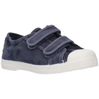 Schuhe Jungen Sneaker Low Natural World 489E Niño Azul marino bleu