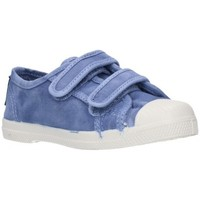 Schuhe Jungen Sneaker Low Natural World 489E Niño Celeste bleu