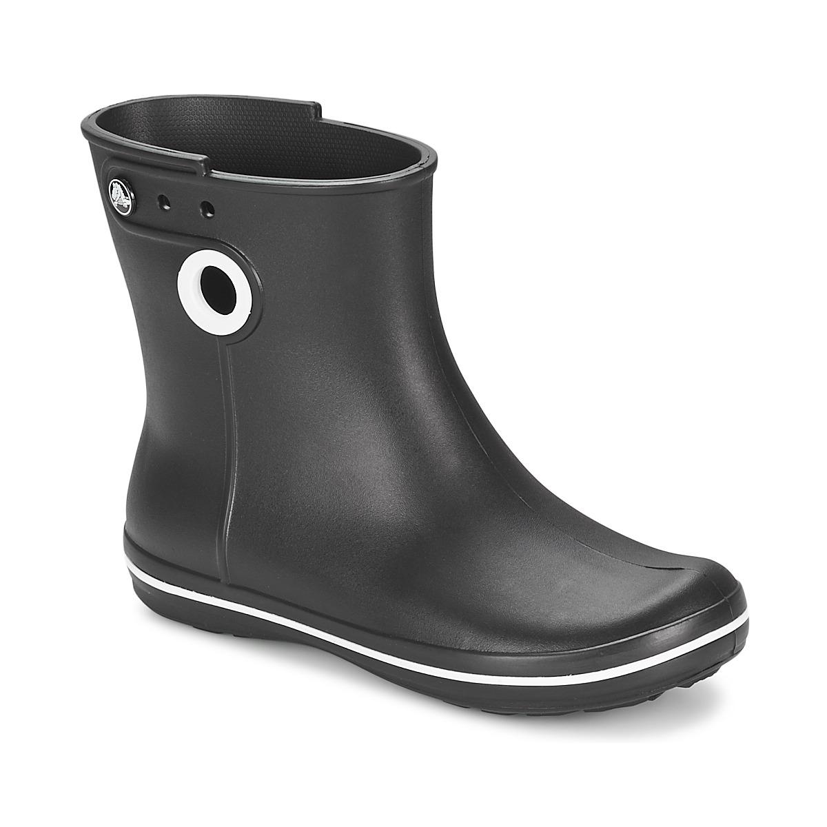 Crocs JAUNT SHORTY BOOT W-BLACK Schwarz - Kostenloser Versand bei Spartoode ! - Schuhe Gummistiefel Damen 32,00 €