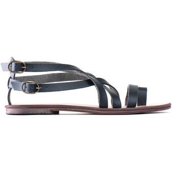 Schuhe Damen Sandalen / Sandaletten Nae Vegan Shoes Itaca Schwarz